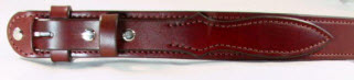 Medium Brown Ranger Belt without buckle