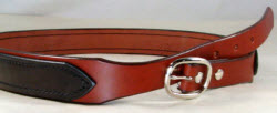 Tapered Leather Work Belt