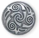 Lindesfarne Spiral Silver Concho