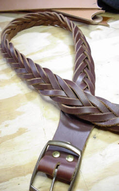 Seven Braid Belt