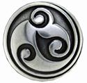 Celtic Silver Concho