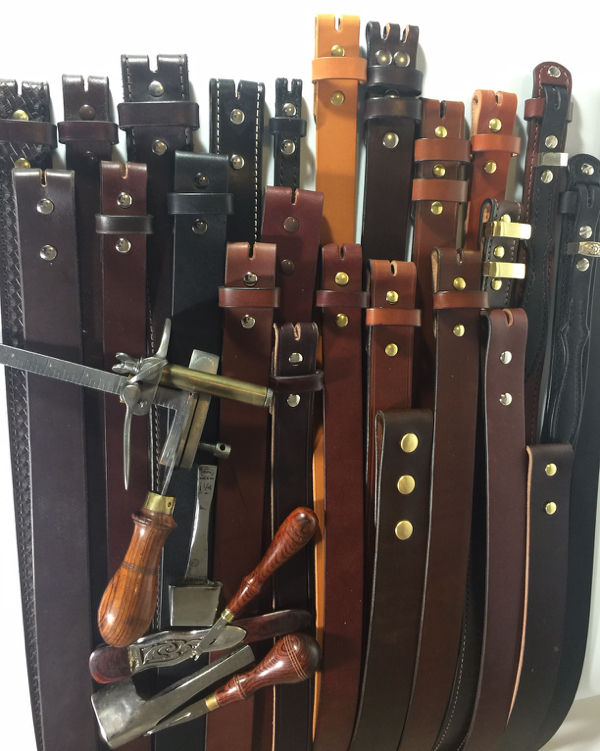 Custom Leather Belts Hand Crafted In The Usa