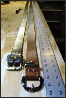 Big Men's Leather Belt