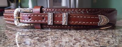 Ranger Belt with heirloom hardware