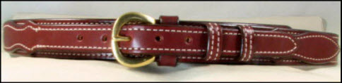 Bridle Leather Texas Ranger Belt