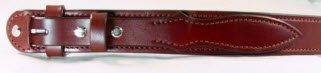 Medium Brown Harness Leather Ranger Belt