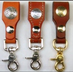 Bridle Leather Belt Key Holders